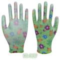 Girls Youth Stretch Nitrile Coating Glove