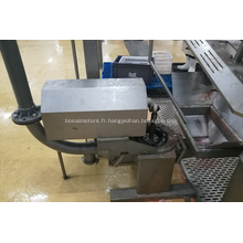 Système de pompe utilisé à l'abattoir