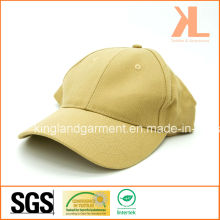 Baumwollbohrer Armee / Militär Khaki Beige Plain Baseball Cap