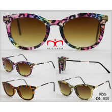 2016 Fashionable Ladies Sunglasses with Metal Temple (WSP510405)