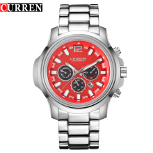 Business Waterproof Sport Montres à quartz Hommes