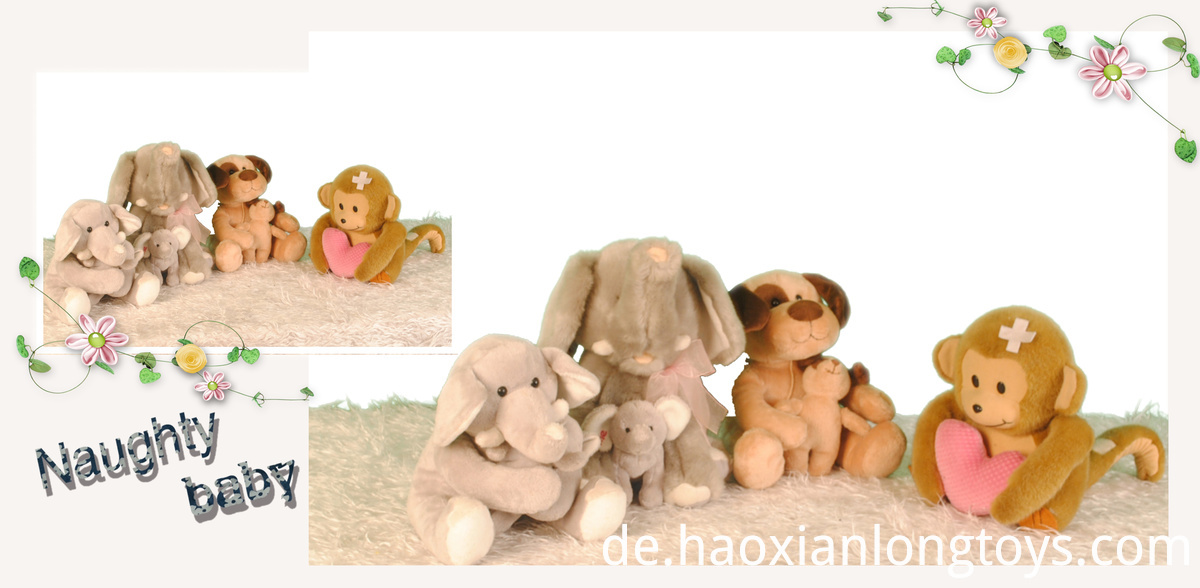 Stuffed toy gift figures