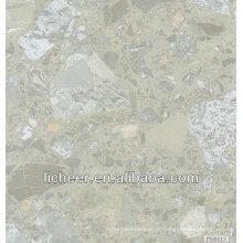 Revestimento de PVC / folha de vinil de mármore