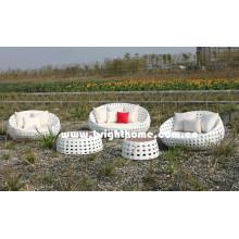 Bubble Weaving PE Rattan Wicker Outdoor Furniture Bg-807