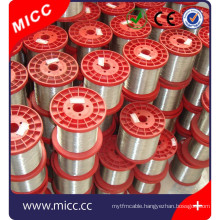 thermocouple wire nickel chromium constantan thermocoule bare wire manufacturer