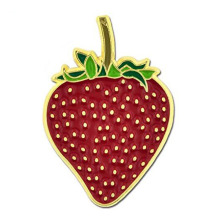 Strawberry Fruit Summer Enamel Lapel Pin