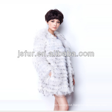 2013 fashion and beautiful noble hotsale in EU real raccoon fur coat