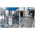 Cosmetic Lotion Paste Emulsify Stirrer Sun Cream Mixing Tank