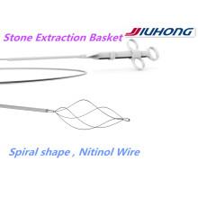 Endoscopique accessoire! Panier d'Extraction Pierre ERCP Nitinol auprès de la FDA