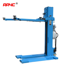 AA4C Hydraulic mobile movable  single post car lift auto hoist vehicle ramp AASP-YY2.5E