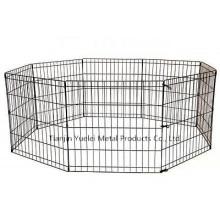 Собака Питомник Клетка Забор для домашних животных Безопасные собаки Run Box Упражнение Pen Outdoor Yard
