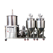 50L 100L Home/Pilot Beer Brewing System with Electrical Heating