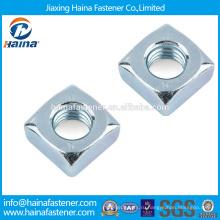 В запасе Китайский поставщик DIN557 Нержавеющая сталь Квадратная гайка