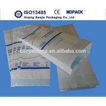 Bolsas de papel Bolsa de esterilización Bolsas de papel de esterilización con calor seco