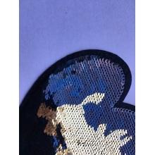 Patchs de paillettes de broderie de vêtement décoratif perlé populaire