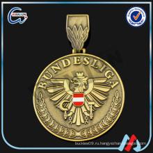 Позолоченное золото tai chi медаль