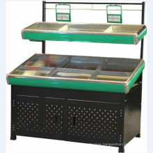 Double Layers Stainless Steel Vegetable Rack From Factory
