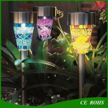 Свет Управление IP44 Сад Украшение Газон Свет Солнечная солнечная Ландшафтная лампа Лампа с множеством шипов