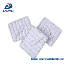 Low price reusable towel airline hot and cold towels Airline refreshing hot towels 100% cotton disposable lemon scented for airplane aviation use