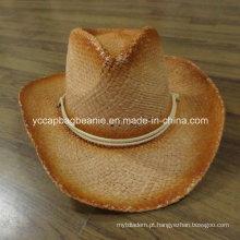 Chapéu de cowboy de papel de moda