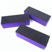 Nails supplies Designed color sanding block nail buffer blocks