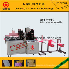 Automatischer Samt-Handschuh, der Maschine herstellt