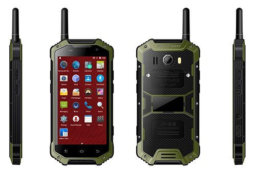 Black Dust-proof Tough Phone