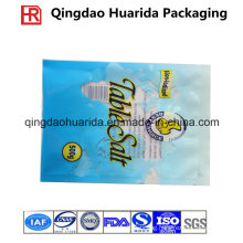 Flat Table Salt Packaging Bag with Custom Logo/Clear Window
