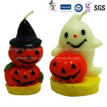 Pumpkin Shaped Halloween Party Candle
