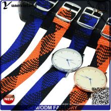Yxl-031 Nouveau Style Perlon Bracelet Promotionnel Bonne Qualité Montre Bracelet Montre Perlon Bracelet Personnalisé Conception En Gros Montre Bracelet