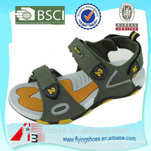 high quality yellow brand sports sandals fancy sandals