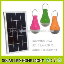 Prix bas conduit lampe solaire portable pour une utilisation domestique et intérieure