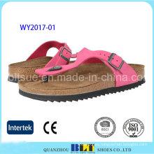 Zapatillas de corcho al aire libre Beach Beach para mujer