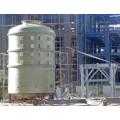 Tanque de FRP para armazenamento de produtos químicos ou de água