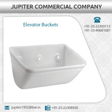 Optimum Output Giving Elevator Bucket with High Pressure Injection Molding