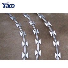 Hot Selling low price concertina BTO-22 type razor barbed wire