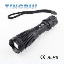 Lampe torche rechargeable multifonction haute performance à haute pression en aluminium à bas prix
