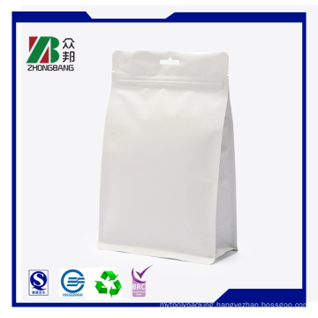 8 Side -Sealed Stand up Bag with Reclosable Zipper