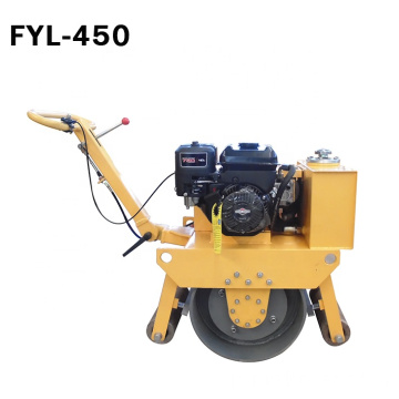 Small Single Drum Trench Use Compactor Roller With Petrol Engine