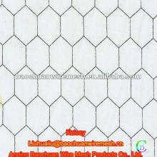 Tejido hexagonal de malla de alambre de pollo