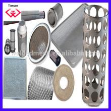 Filtro de alambre de acero inoxidable Filtro Productos Filtración fábrica real