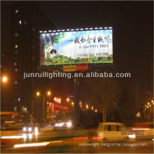 2013 unique design proof-thefty solar LED advertising lighting system