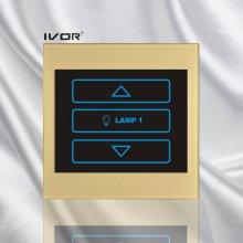1 Gang Dimmer Switch in Acrylic Outline Frame (SK-LT100-D1)