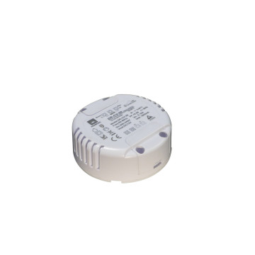 Ronde 12v dimbare led driver met constante spanning