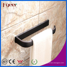 Fyeer Fashion Design Long Towel Ring Black Towel Bar