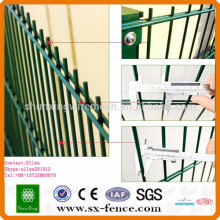Alibaba trade assurance cheap double wire fence welded wire fence
