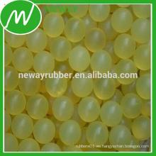 Fabricación de la fábrica de China Bola al por mayor del tamiz de goma