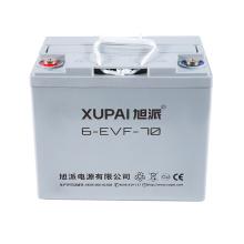 Heiß verkaufte 12v70Ah elektrische Dreirad-Blei-Säure-Batterie