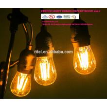 SL-08 STRING LIGHTS CORDS SETS decorative outdoor string lights LED BULBS UL CSA