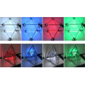 DMX Control RGB Matrix Led Geometry Meteor Tube